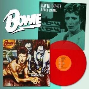 Diamond Dogs Vinile Rosso Red Vinyl Rebel Rebel 2