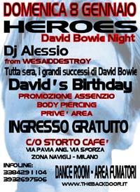 Italian Bowie birthday nights 1