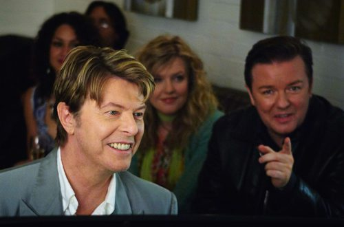 Bowie a Extras telefilm della BBC 1