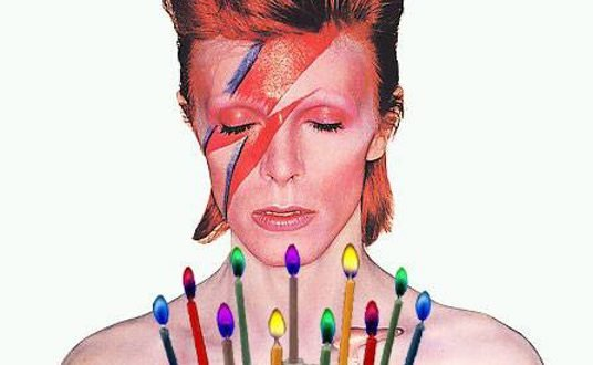 Bowie 60° birthday party: i dettagli 1