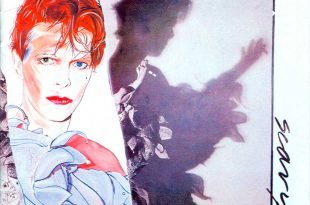 David Bowie Scary Monsters Cover Copertina