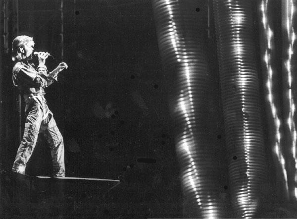 Bowie Glass Spider Firenze 9 giugno 1987