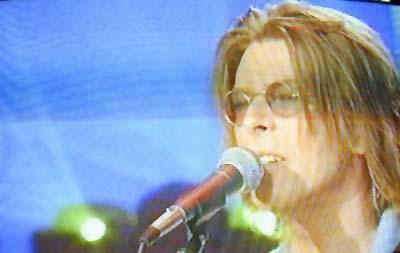 """Bowie da Fazio: """"Quelli che il calcio"""" 1999 (RAI 2) 15"""