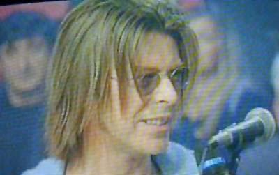 """Bowie da Fazio: """"Quelli che il calcio"""" 1999 (RAI 2) 11"""