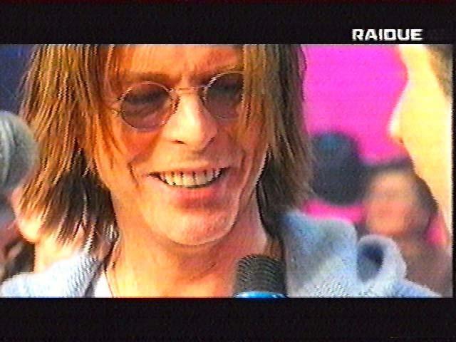 """Bowie da Fazio: """"Quelli che il calcio"""" 1999 (RAI 2) 8"""