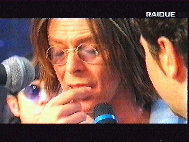 """Bowie da Fazio: """"Quelli che il calcio"""" 1999 (RAI 2) 9"""