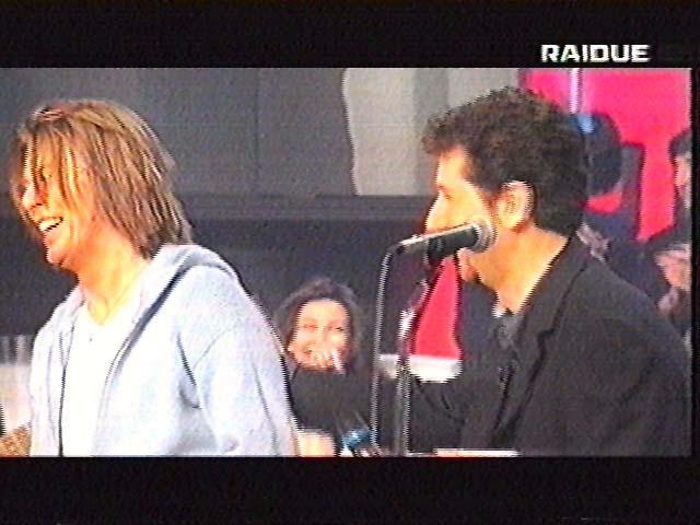 """Bowie da Fazio: """"Quelli che il calcio"""" 1999 (RAI 2) 10"""