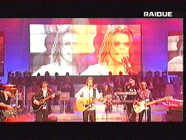 """Bowie da Fazio: """"Quelli che il calcio"""" 1999 (RAI 2) 1"""