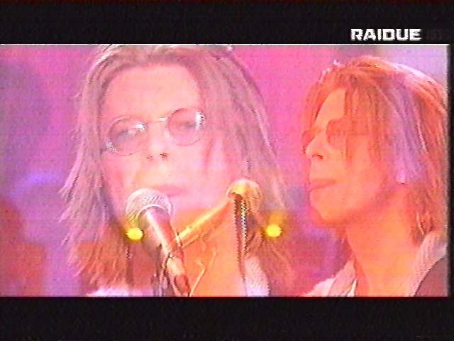 """Bowie da Fazio: """"Quelli che il calcio"""" 1999 (RAI 2) 2"""