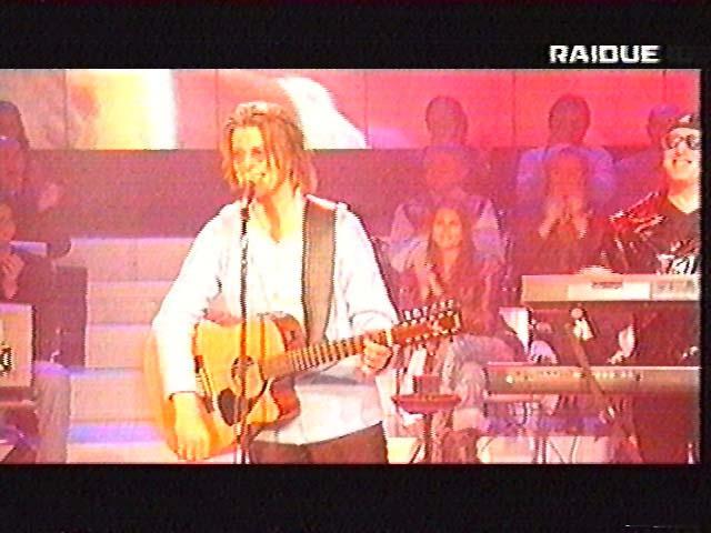 """Bowie da Fazio: """"Quelli che il calcio"""" 1999 (RAI 2) 4"""