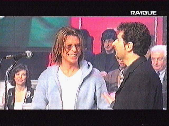 """Bowie da Fazio: """"Quelli che il calcio"""" 1999 (RAI 2) 5"""
