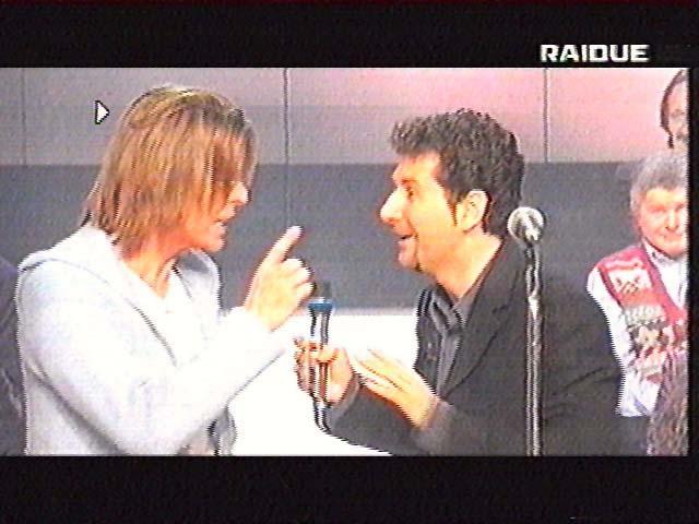 """Bowie da Fazio: """"Quelli che il calcio"""" 1999 (RAI 2) 6"""