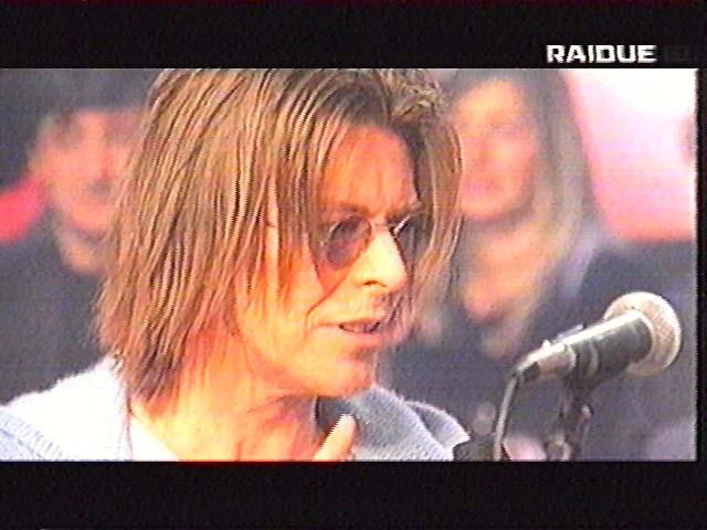 """Bowie da Fazio: """"Quelli che il calcio"""" 1999 (RAI 2) 7"""