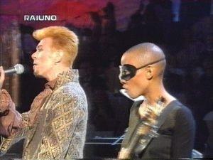 Bowie Sanremo 1997