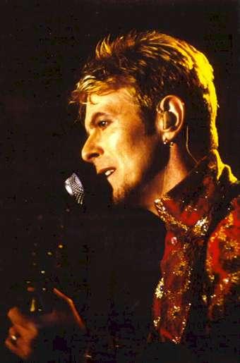 David Bowie Earthling Tour Brescia 8 Luglio 1997 foto