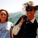 """INCONTRI - Sul set del film """"Il mio West"""" giugno 1998 2"""