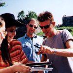 """INCONTRI - Sul set del film """"Il mio West"""" giugno 1998 8"""