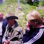 """INCONTRI - Sul set del film """"Il mio West"""" giugno 1998 12"""