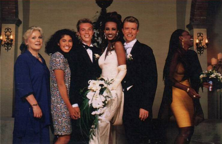 Il matrimonio di Iman e Bowie a Firenze 14