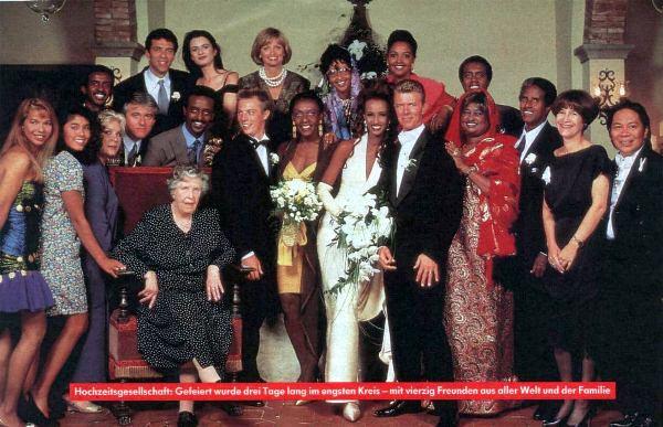 Il matrimonio di Iman e Bowie a Firenze 11