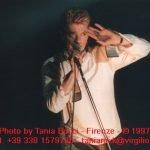 Earthling tour David Bowie Pistoia