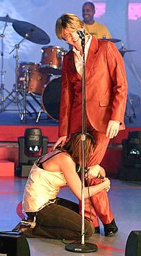 David Bowie Simona Ventura Quelli che il calcio 2002