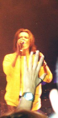 David Bowie hour tour alcatraz milano 4 dicembre 1999 foto