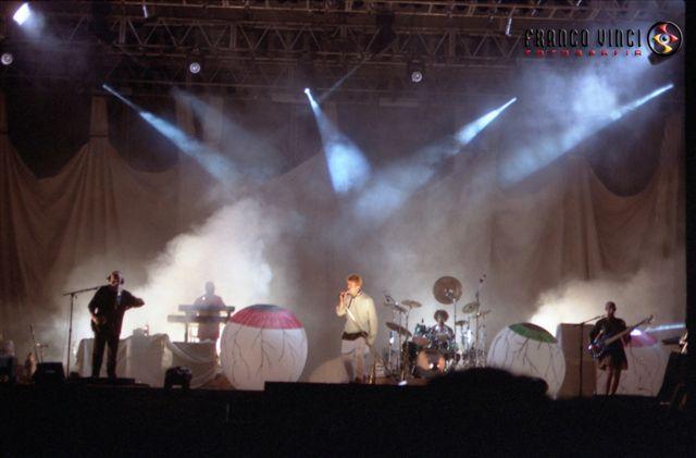 David Bowie Earthling Tour Arbatax 11 Luglio 1997 foto