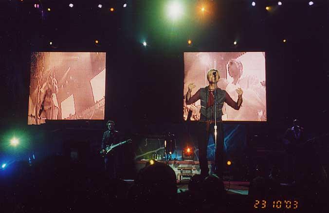 Reality Tour, Milano 23 Ottobre 2003 61