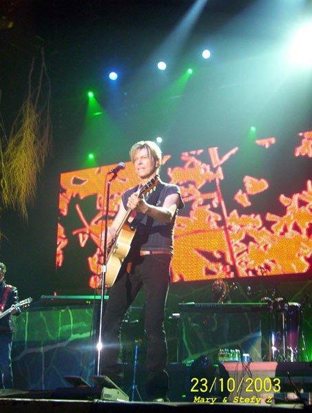 Reality Tour, Milano 23 Ottobre 2003 43