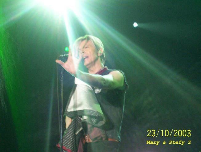 Reality Tour, Milano 23 Ottobre 2003 32