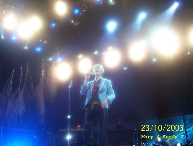 Reality Tour, Milano 23 Ottobre 2003 31