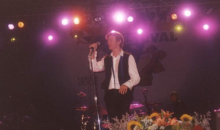 David Bowie Heathen Tour Lucca 15 Luglio 2002 Foto