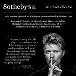 All'asta la collezione di Bowie 2