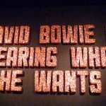 David Bowie is 25 agosto 2016 1