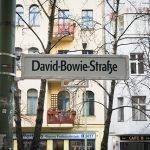 Berlino: una targa per Bowie in Hauptstrasse 3