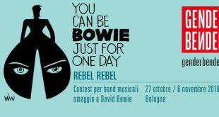 Rebel Rebel: concorso in omaggio a Bowie 5