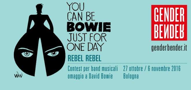 Rebel Rebel: concorso in omaggio a Bowie 1