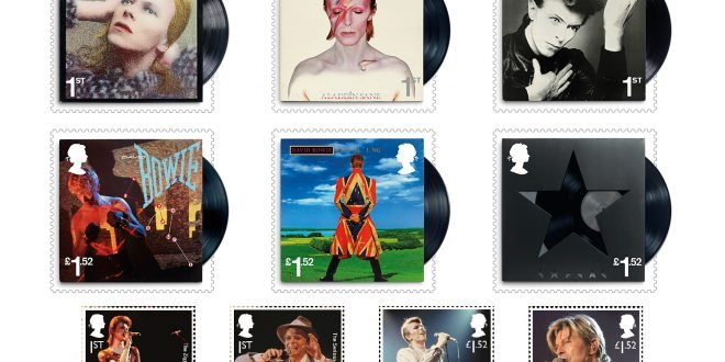 David Bowie Francobolli Stamps