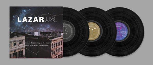 lazarus musical cast album vinile