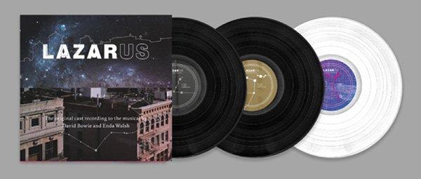 lazarus musical cast album vinile bianco