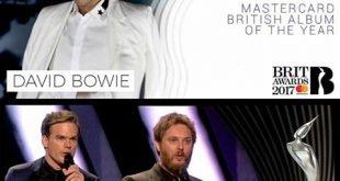 Bowie Brit Awards 2017
