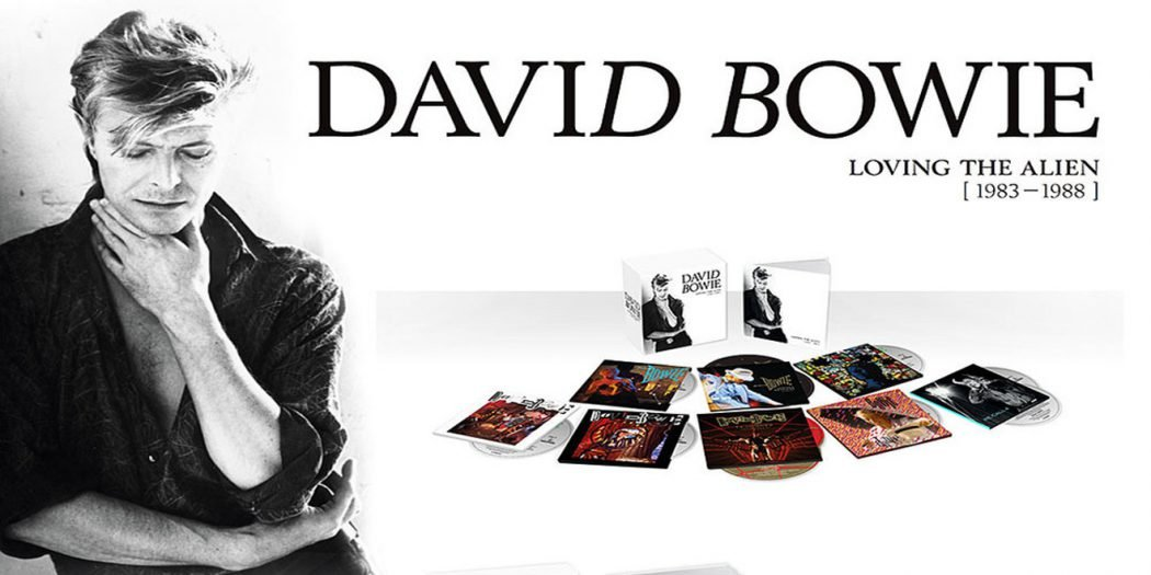 David Bowie loving the alien cofanetto boxset