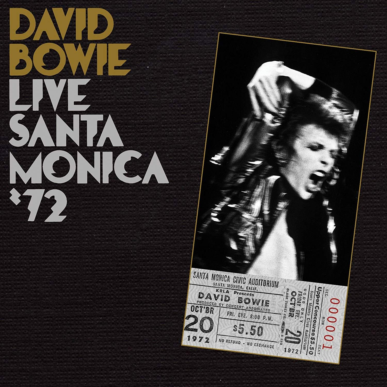 David Bowie Live in Santa Monica 72