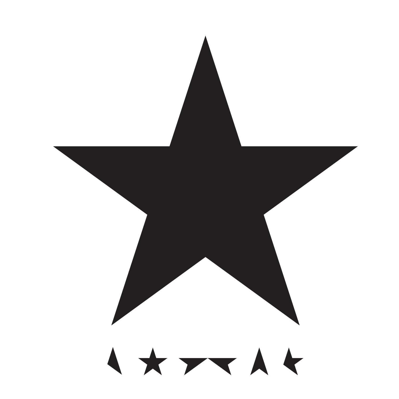 Blackstar David Bowie album cover copertina