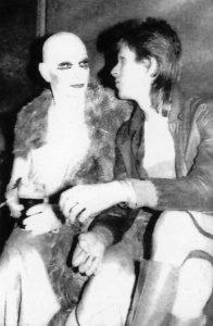 Lindsay Kemp e David Bowie affinità con il segno Toro