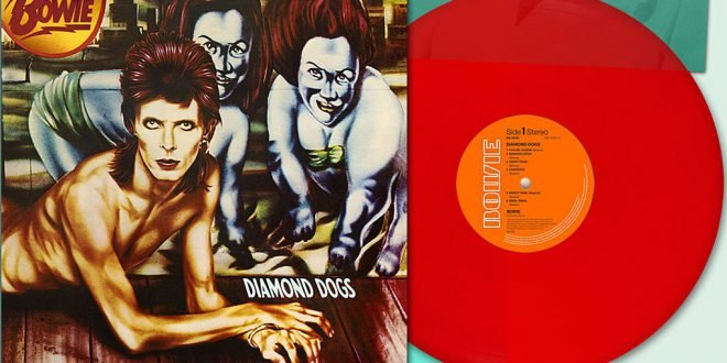 Diamond Dogs Vinile Rosso Red Vinyl Rebel Rebel 1