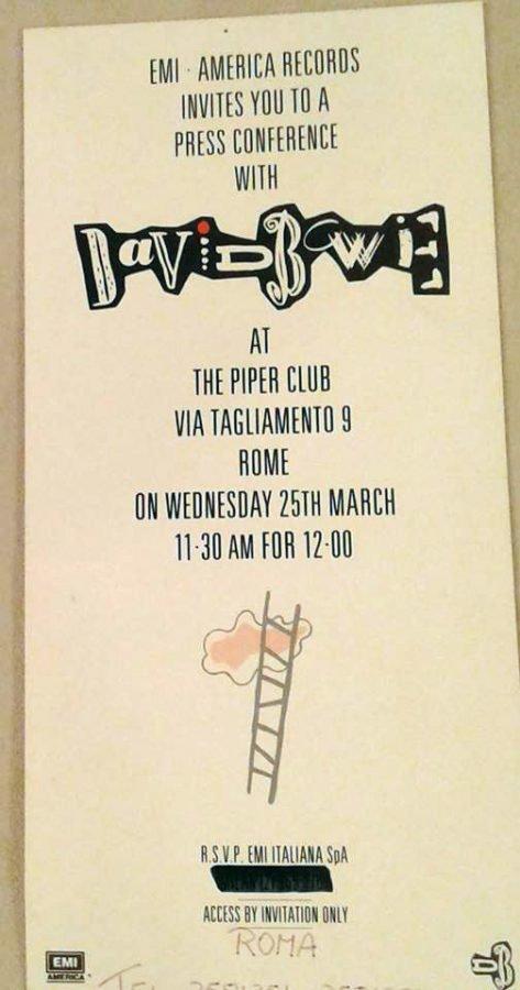 Piper Club Roma - 25 marzo 1987 3