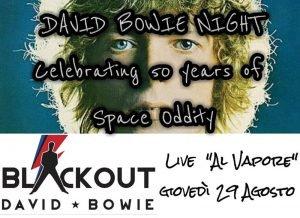 Blackout Vapore Marghera Eventi tributo a Bowie Agosto 2019