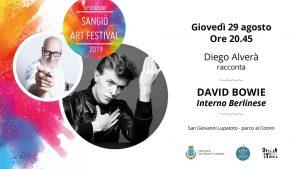Diego Alverà Sangiò Art Festival Interno Berlinese Eventi tributo a David Bowie agosto 2019